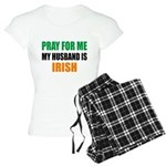 Pray Husband Irish Women's Light Pajamas