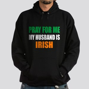 Pray Husband Irish Hoodie (dark)