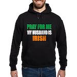 Pray Husband Irish Hoodie (dark)
