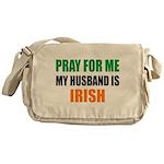Pray Husband Irish Messenger Bag