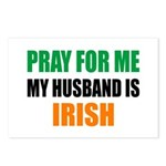 Pray Husband Irish Postcards (Package of 8)