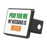 Pray Husband Irish Rectangular Hitch Cover