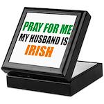 Pray Husband Irish Keepsake Box