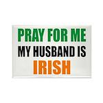 Pray Husband Irish Rectangle Magnet