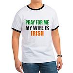 Pray Wife Irish Ringer T