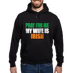 Pray Wife Irish Hoodie (dark)