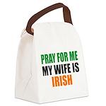 Pray Wife Irish Canvas Lunch Bag