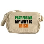 Pray Wife Irish Messenger Bag