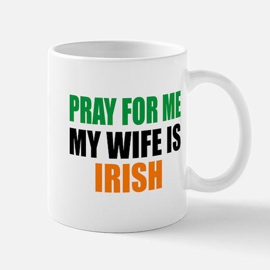 Pray Wife Irish Mug Mugs