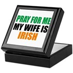 Pray Wife Irish Keepsake Box
