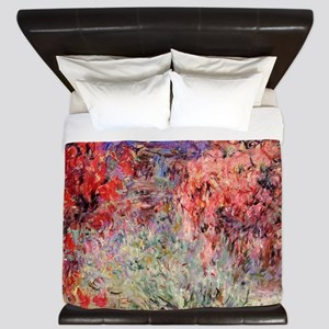Flowering Trees King Duvet