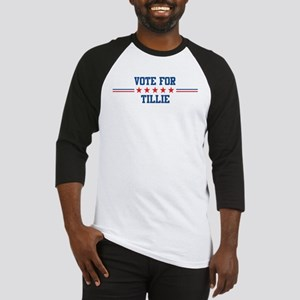 Vote for TILLIE Baseball Jersey