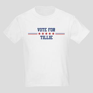Vote for TILLIE Kids T-Shirt