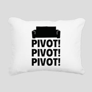 PIVOT PIVOT PIVOT Rectangular Canvas Pillow