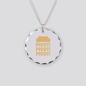 PIVOT PIVOT PIVOT Necklace Circle Charm