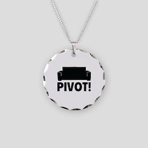 PIVOT! Necklace Circle Charm