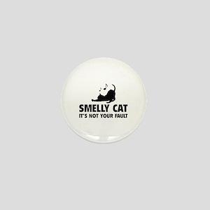 Smelly Cat Mini Button