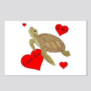 Personalized Turtle Postcards (Package of 8)