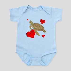 Personalized Turtle Infant Bodysuit
