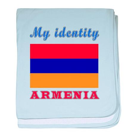 my identity armenia baby blanket by tshirts4countries