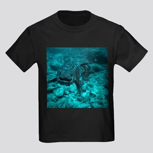 Coelacanth fish - Kid's Dark T-Shirt