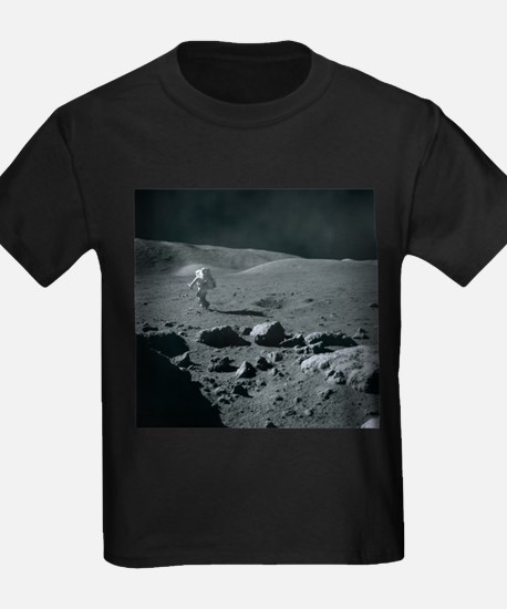 Apollo 17 astronaut - Kid's Dark T-Shirt