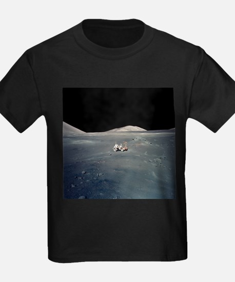 Apollo 17 astronauts - Kid's Dark T-Shirt