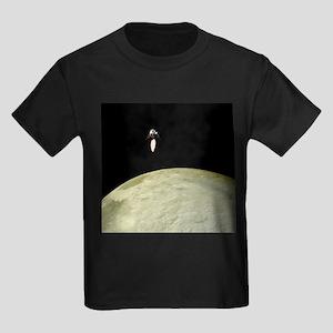 Apollo moon landing - Kid's Dark T-Shirt