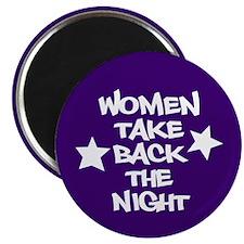 Women Take Back The Night Magnet
