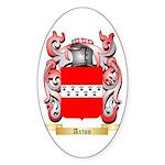Axton Sticker (Oval 50 pk)