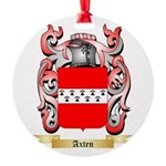 Axten Round Ornament