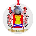 Aviles Round Ornament