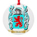 Avila Round Ornament