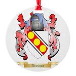 Avesque Round Ornament