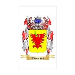 Avermann Sticker (Rectangle 50 pk)