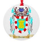 Avalos Round Ornament