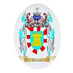 Avalos Ornament (Oval)