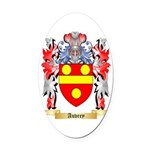 Auvrey Oval Car Magnet