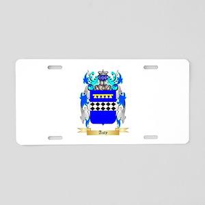 Auty Aluminum License Plate