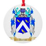 Austins Round Ornament