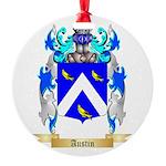 Austin Round Ornament