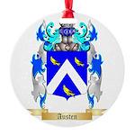 Austen Round Ornament