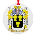 Aust Round Ornament