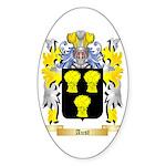 Aust Sticker (Oval 50 pk)