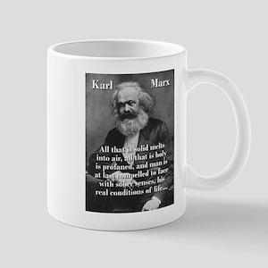 All That Is Solid - Karl Marx 11 oz Ceramic Mug