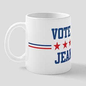 Vote for JEANINE Mug
