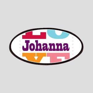 I Love Johanna Patches