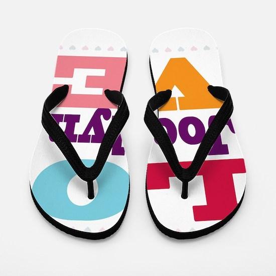 I Love Jocelyn Flip Flops
