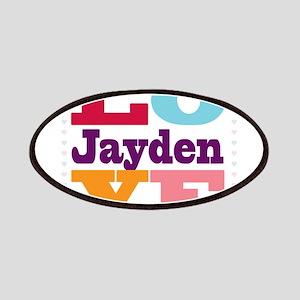 I Love Jayden Patches