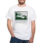 Relaxing Walk White T-Shirt
